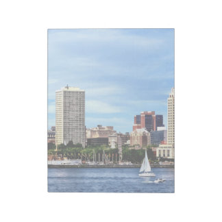 Philadelphia Pa Skyline Notepad