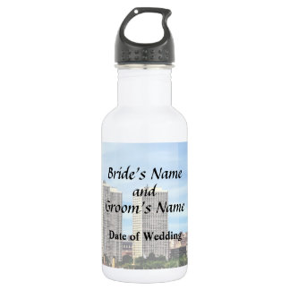 Philadelphia Pa Skyline Wedding Supplies 532 Ml Water Bottle
