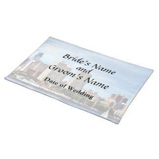 Philadelphia Pa Skyline Wedding Supplies Placemat