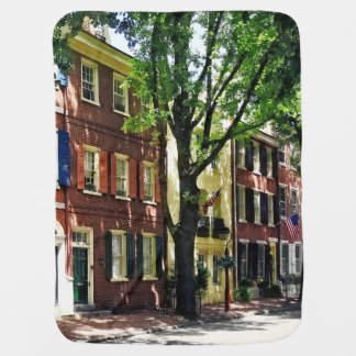 Philadelphia PA - Society Hill Street Baby Blanket