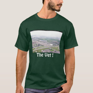 Philadelphia PA Veterans Stadium Aerial View T-Shirt
