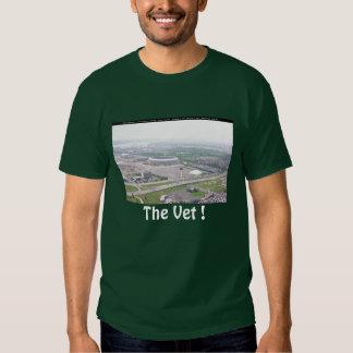 Philadelphia PA Veterans Stadium Aerial View Tshirt