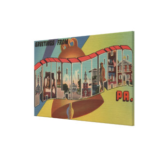 Philadelphia, Pennsylvania (Liberty Bell) Canvas Print