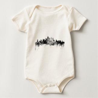 Philadelphia Pennsylvania Skyline Baby Bodysuit