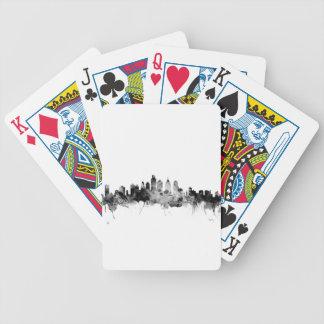 Philadelphia Pennsylvania Skyline Bicycle Playing Cards