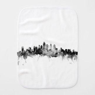 Philadelphia Pennsylvania Skyline Burp Cloth