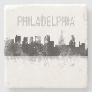 PHILADELPHIA PENNSYLVANIA SKYLINE -Drinks Coaster