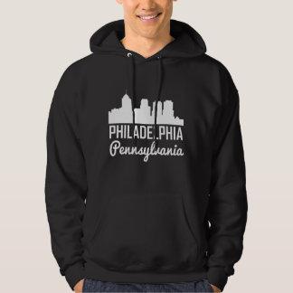 Philadelphia Pennsylvania Skyline Hoodie