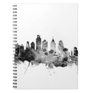 Philadelphia Pennsylvania Skyline Notebooks