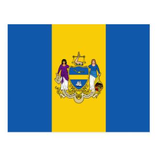 Philadelphia, Pennsylvania, United States flag Postcards