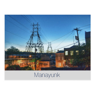 Philadelphia Postcard-Manayunk-Cresson & Cotton Postcard