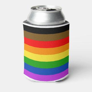 Philadelphia pride flag can cooler