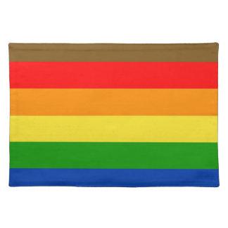Philadelphia pride flag placemat