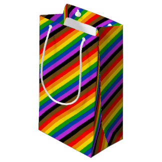 Philadelphia pride flag small gift bag