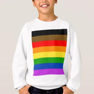 Philadelphia pride flag sweatshirt