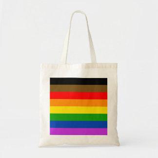 Philadelphia pride flag tote bag