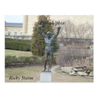 Philadelphia Rocky Statue Postcard