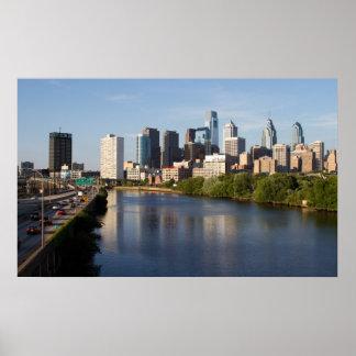 Philadelphia Skyline 2 Poster