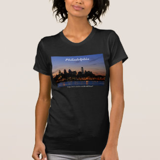 Philadelphia Skyline at Twilight shirt