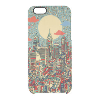 philadelphia skyline clear iPhone 6/6S case