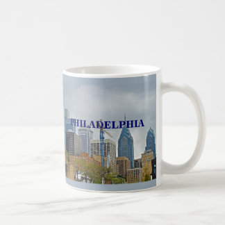 Philadelphia Skyline from the River Walk Coffee Mug