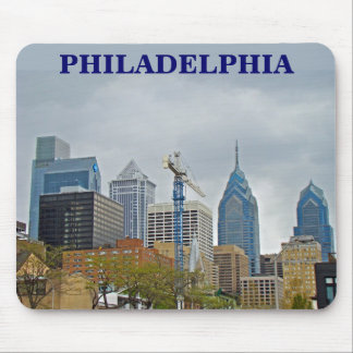 Philadelphia Skyline from the River Walk Mouse Pad