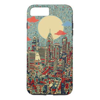 philadelphia skyline iPhone 7 plus case