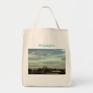 Philadelphia Skyline Photo Tote Bag