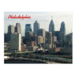 Philadelphia Skyline Postcard