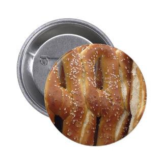 Philadelphia Soft Pretzels 6 Cm Round Badge