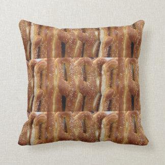 Philadelphia Soft Pretzels Pillow Cushion