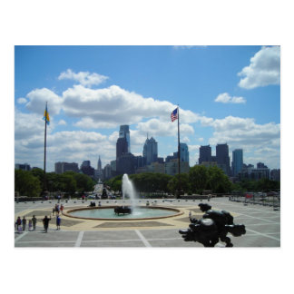Philadelphia View Postcard
