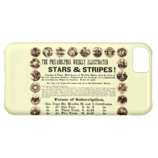 Philadelphia Weekly 1918 Stars & Stripes Newspaper iPhone 5C Case