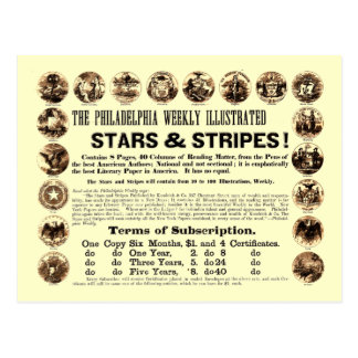 Philadelphia Weekly 1918 Stars & Stripes Newspaper Postcards