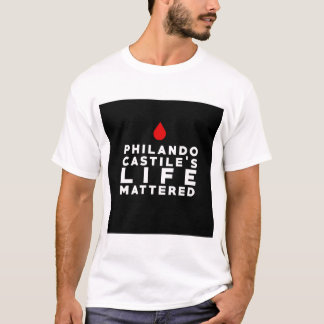 Philando Castile's Life Mattered T-Shirt