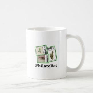Philatelist 3 basic white mug