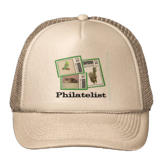 Philatelist 3 cap