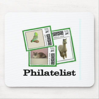Philatelist 3 mouse pad
