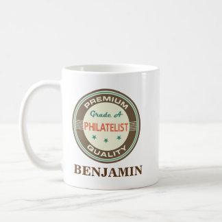 philatelist Personalized Office Mug Gift