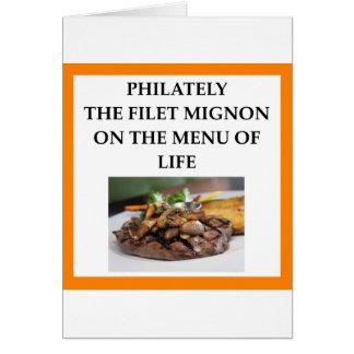 PHILATELY CARD