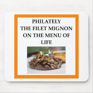 PHILATELY MOUSE PAD