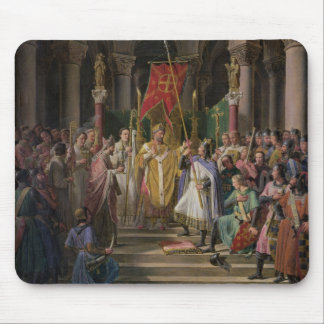 Philip Augustus  King of France Taking the Mouse Pad
