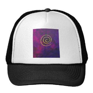 Philip Bowman Infinity Deep Purple Decorative Art Trucker Hat