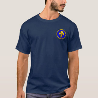 Philip II Augustus Blue & Gold Seal Shirt