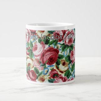 "Philip Jacobs Fabric ""Glory Rose"" Mug"