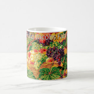 Philip Jacobs Fabric Market Baskets Mug