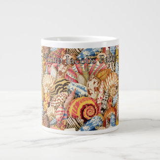 "Philip Jacobs Fabric ""Shell Montage"" Mug"
