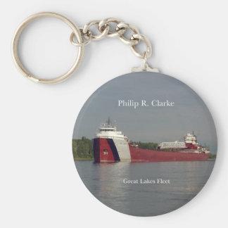 Philip R. Clarke key chain
