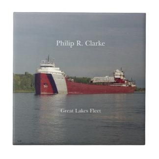 Philip R. Clarke tile