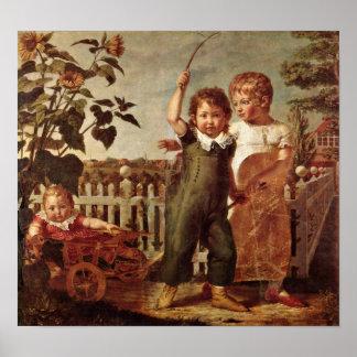 Philipp Otto Runge - The Hulsenbeck children Poster